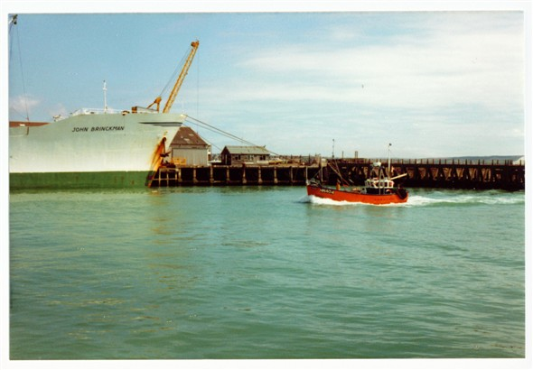 Photo:East Quay - 1980