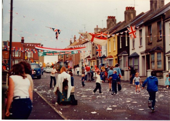 Photo:Royal Wedding street party 1981