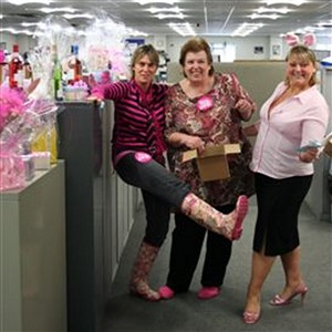 Photo: Illustrative image for the 'PINK DAY AT WORK, 2008' page