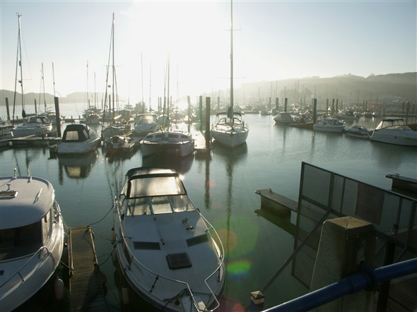 Photo: Illustrative image for the 'VIEWS OF THE MARINA' page