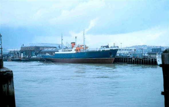 Photo:Winchester - built 1947 1,149 Gross Tons - for Southampton - Channel Isles freight service