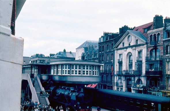 Photo:Dieppe Quayside from SS Londres August 1962