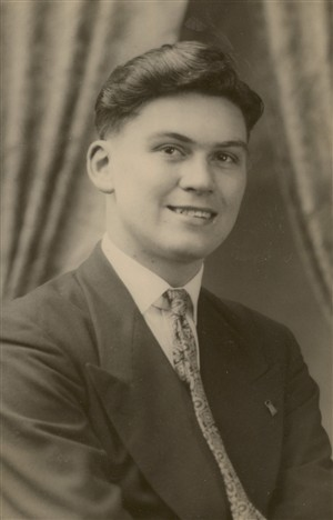 Photo:Photo of me about 1950