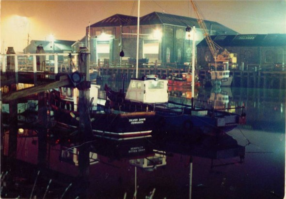 Photo:MARINE WORKSHOPS AT NIGHT - 1981