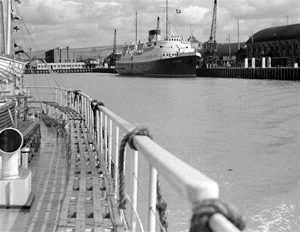 Photo: Illustrative image for the 'FERRIES IN THE 50s' page