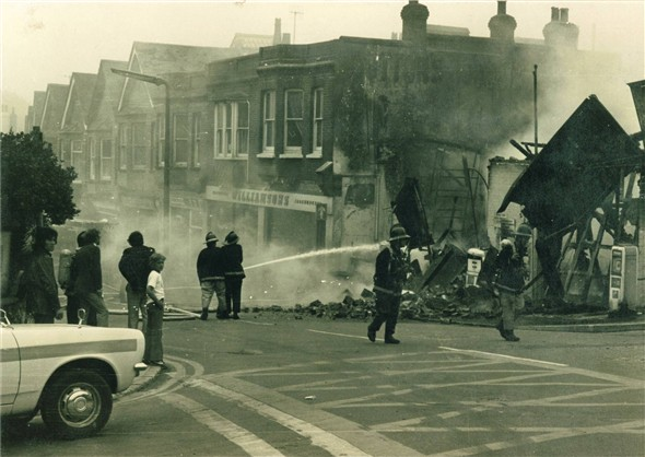 Photo:Arrows Fire - 19th July 1976
