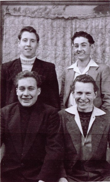 Photo:Chaily Bailey - Bob Stonehouse - Bill Ince - Bob Lower - c1954