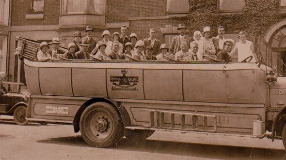 Photo: Illustrative image for the 'THE CHARABANC TRIP' page