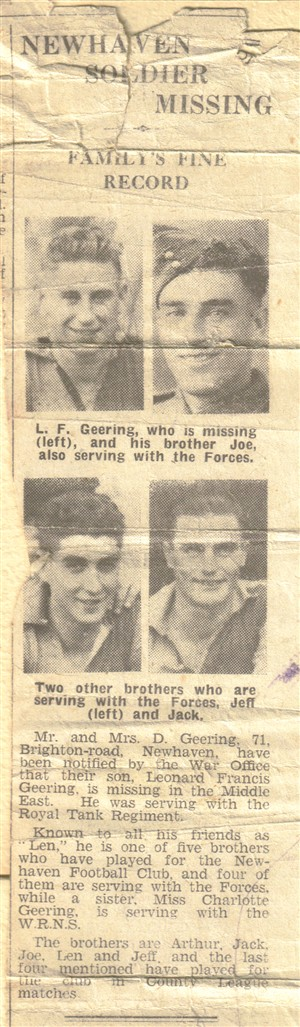 Photo: Illustrative image for the 'GEERING BROTHERS NEWSPAPER CUTTING' page