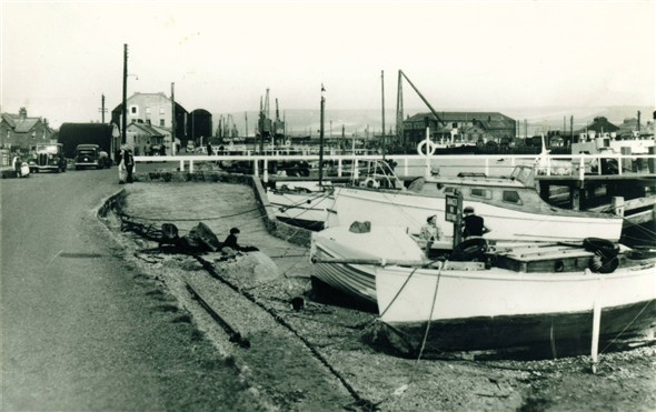 Photo:West Quay - c1950