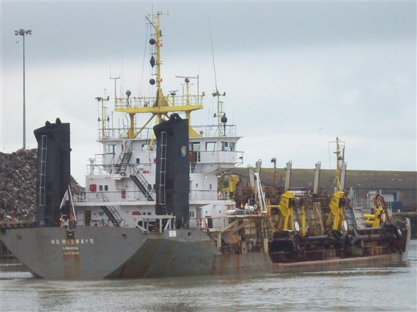 Photo:Dredging the Harbour - 2009