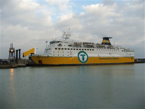 Photo:Sardinia Vera at Newhaven.