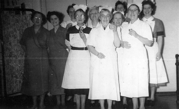 Photo:Downs hospital nurses