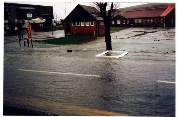 Photo:Fort rd flood (2)