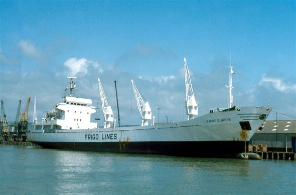 Photo:Frigo Europa from Spain built 1980 3,600 gross tons