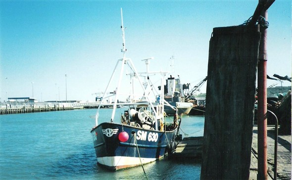 Photo:Fishing boat SM630