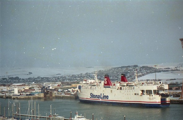 Photo:Harbour / Stena Antrim