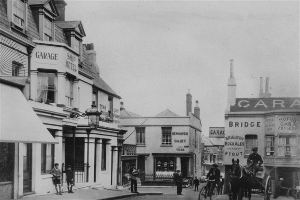 Photo:(18) - High St / Bridge 1920