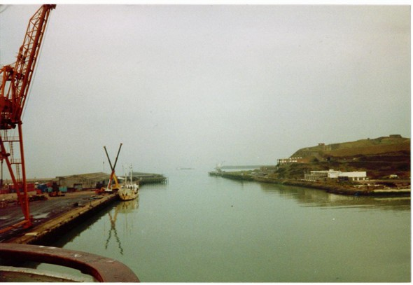 Photo:Harbour entrance 1988