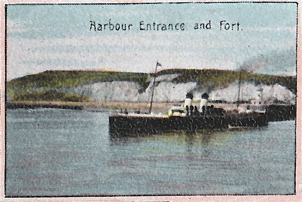 Photo:Harbour Enterance c1900