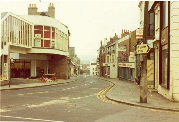 Photo:High Street (New site for International Stores) - C1971