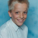 Photo:Marc's school photo