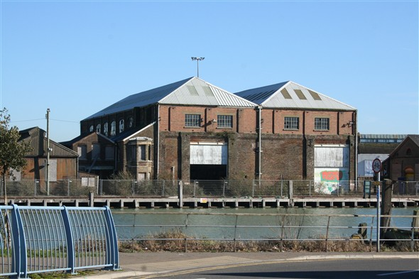 Photo:The Marine Shops seen in 2009