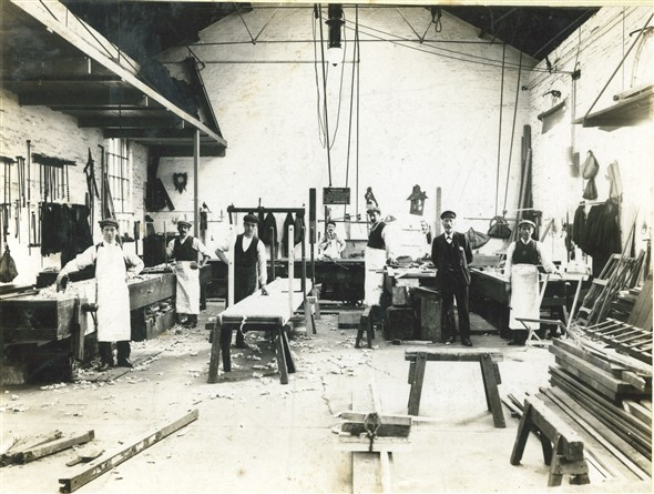 Photo: Illustrative image for the 'MARINE CARPENTERS WORKSHOPS' page