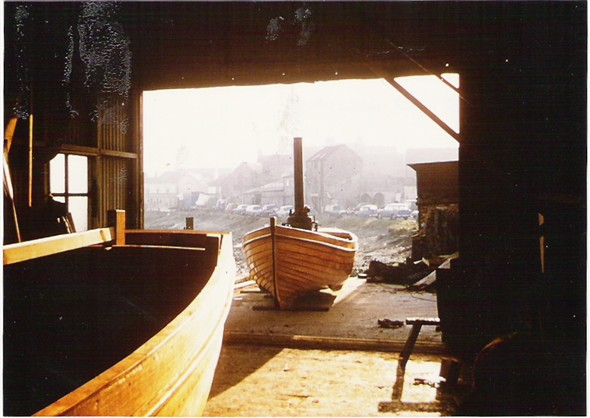 Photo:Steam boat launch at Lower's Yard 1972
