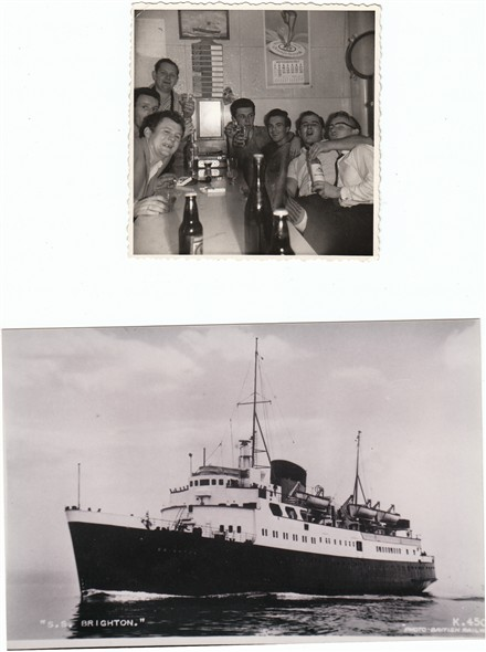 Photo:Postcard and private photograph