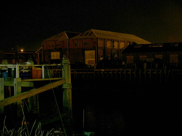 Photo:MARINE WORKSHOPS AT NIGHT - 2008