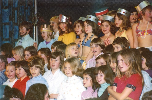 Photo:1977 Christmas Party