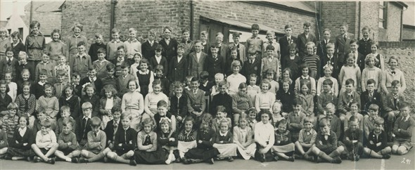 Photo:Meeching Junior School - 1955