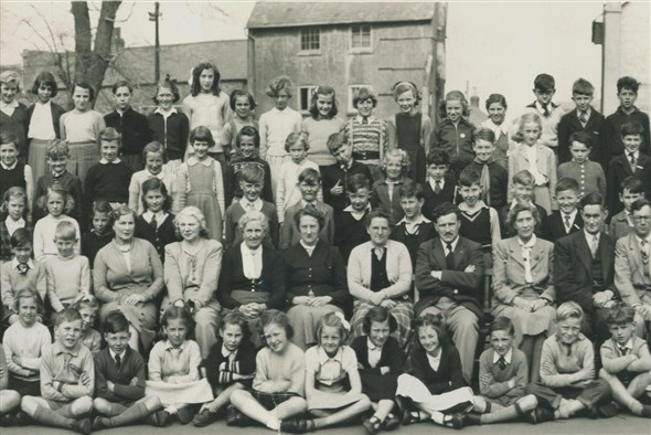 Photo:(30) Meeching school 1955