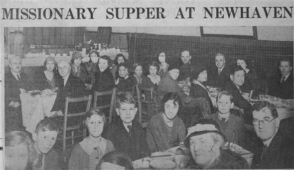 Photo: Illustrative image for the 'MISSIONARY SUPPER AT NEWHAVEN' page