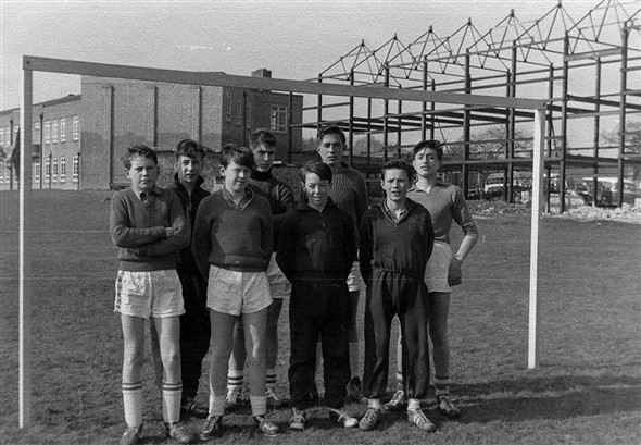 Photo:5 a side football team  c1960