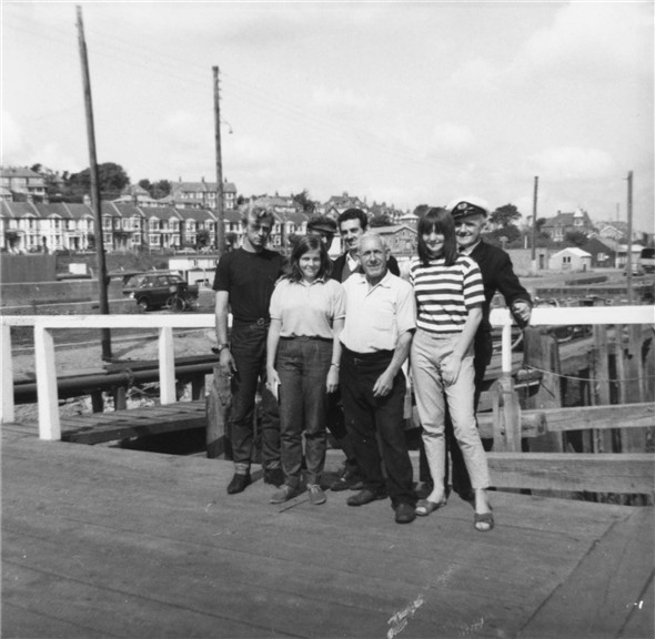 Photo:Tug Crew and Family Members - c1964