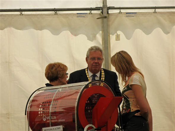 Photo:Graham Amy, Mayor of Newhaven