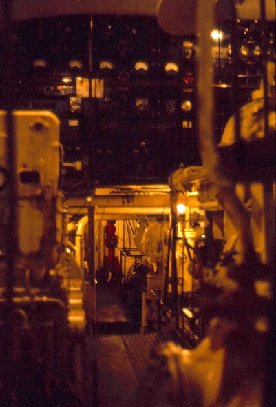 Photo:Normannia - engine room