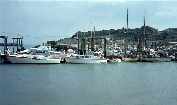 Photo:The Marina looking toward Newhaven Fort