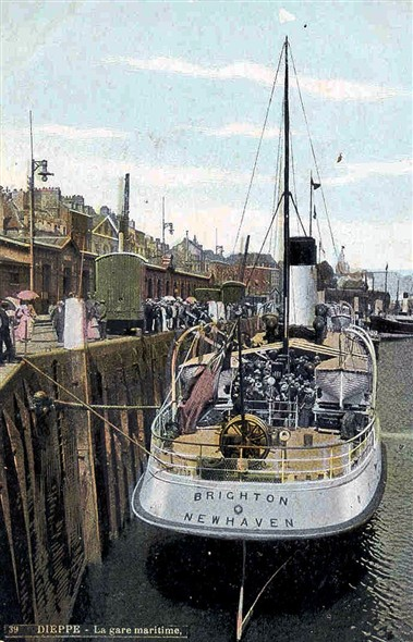 Photo:SS Brighton of the LBSCR built 1903