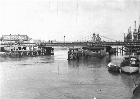 Photo:Old Swing Bridge