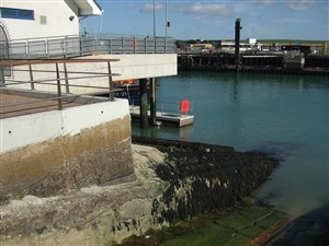 Photo: Illustrative image for the 'LIFEBOAT SLIPWAY AND PRESENT LIFEBOAT' page