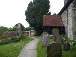 Photo:Church of St Leonard, Denton