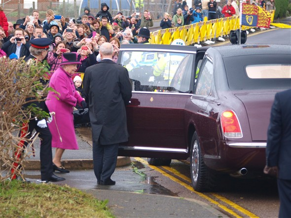 Photo: Illustrative image for the 'QUEENS VISIT - 2013' page