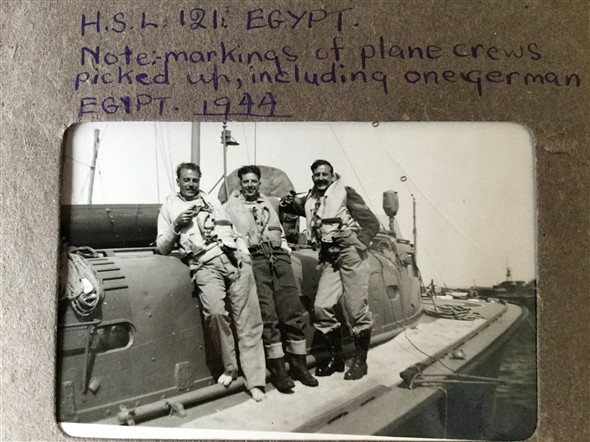 Photo:Note:- Uniform marking of plane crews picked including one German