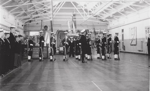 Photo:Annual Admiralty Inspection Oct 1957