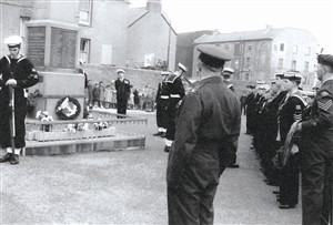 Photo:Remembrance Day Sunday 1961