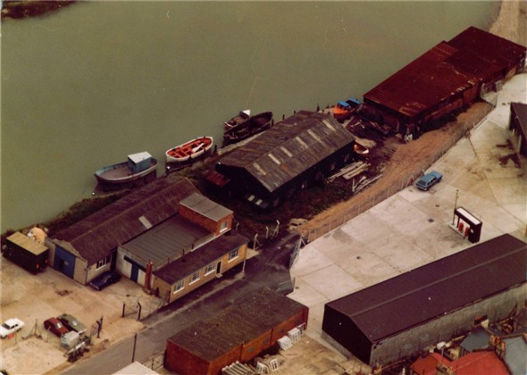 Photo:R Lower and Son's Boatyard - c1980