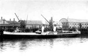 Photo:Paddle Steamer Rouen